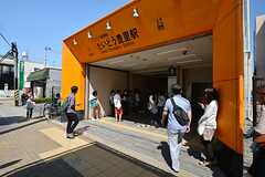大阪市営地下鉄今里筋線・だいどう豊里駅の様子。(2014-09-28,共用部,ENVIRONMENT,1F)