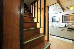 階段の様子。(2012-08-18,共用部,OTHER,2F)