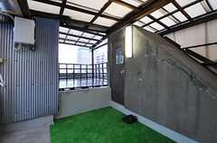屋上の様子2。(2012-08-18,共用部,OTHER,4F)