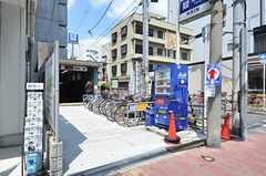 大阪市営地下鉄千日前線・新深江駅の様子。(2012-08-18,共用部,ENVIRONMENT,1F)
