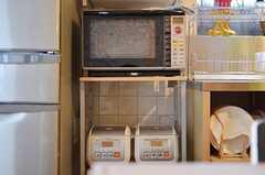キッチン家電の様子。(2012-12-18,共用部,KITCHEN,1F)