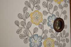 和風で可愛い絵柄です。(202号室)(2012-12-18,専有部,ROOM,2F)