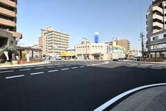 駅前の交差点の様子。(2018-03-13,共用部,ENVIRONMENT,1F)