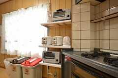 キッチン家電の様子。(2015-09-03,共用部,KITCHEN,4F)