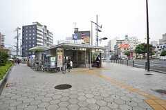 各線・今里駅の様子。(2015-09-03,共用部,ENVIRONMENT,1F)