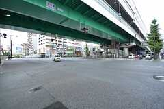 深江橋交差点の様子。(2015-09-03,共用部,ENVIRONMENT,1F)