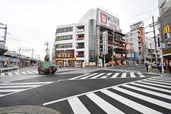 大阪環状線・桃谷駅前の様子。(2016-11-14,共用部,ENVIRONMENT,1F)