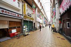 商店街の様子2。(2016-11-14,共用部,ENVIRONMENT,1F)