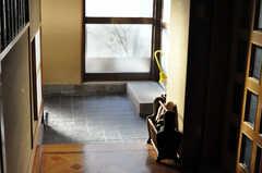 内部から見た玄関の様子。(2010-11-27,周辺環境,ENTRANCE,5F)