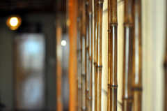 障子格子は竹です。(2010-11-27,共用部,OTHER,5F)