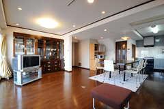 シェアハウスのリビングの様子4。(2010-11-27,共用部,LIVINGROOM,5F)