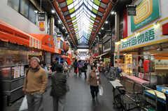 黒門市場もすぐ近くです。(2010-11-27,共用部,ENVIRONMENT,1F)