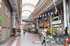 千鳥橋駅前の商店街。(2016-12-13,共用部,ENVIRONMENT,2F)