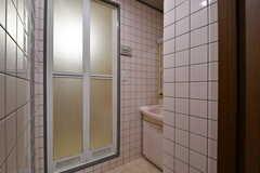 脱衣室の様子。(2017-07-12,共用部,BATH,2F)