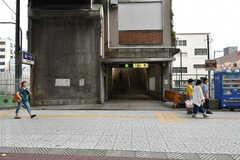 地下鉄中央線・弁天町駅の様子。(2017-07-12,共用部,ENVIRONMENT,1F)
