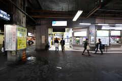 JR・鶴橋駅前の様子。(2017-11-14,共用部,ENVIRONMENT,1F)