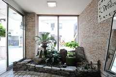 土間の日本庭園。(2013-05-21,周辺環境,ENTRANCE,1F)