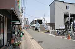 杉本町駅の様子。(2013-05-21,共用部,ENVIRONMENT,1F)