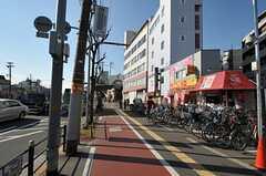 阪神なんば線・千鳥橋駅前の様子。(2012-01-13,共用部,ENVIRONMENT,1F)