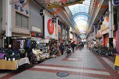 千鳥橋駅前の四貫島商店街の様子。(2012-01-13,共用部,ENVIRONMENT,1F)