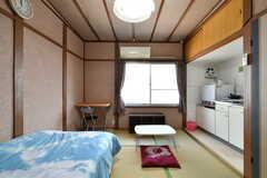 専有部の様子。モデルルームです。(208号室)(2019-01-17,専有部,ROOM,2F)
