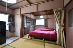 専有部の様子。2間続きで、2名入所が可能です。モデルルームです。(209号室)(2019-01-17,専有部,ROOM,2F)