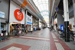 千鳥橋駅前の四貫島商店街の様子。(2019-01-17,共用部,ENVIRONMENT,1F)