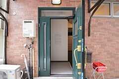 正面玄関から見た内部の様子。(2012-12-18,周辺環境,ENTRANCE,1F)