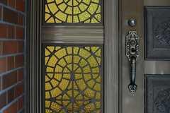 ドアハンドルの様子。(2013-10-29,周辺環境,ENTRANCE,1F)