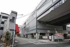 阪神なんば線 出来島駅の様子。(2011-11-28,共用部,ENVIRONMENT,1F)