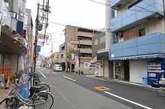 阪神なんば線 出来島駅前の様子。(2011-11-28,共用部,ENVIRONMENT,1F)
