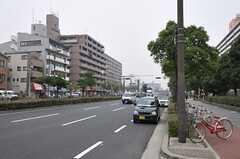 大阪市営地下鉄四つ橋線・北加賀屋駅前の様子。(2011-11-29,共用部,ENVIRONMENT,1F)