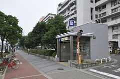 大阪市営地下鉄四つ橋線・北加賀屋前の様子。(2011-11-29,共用部,ENVIRONMENT,1F)