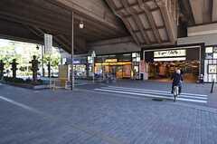 各線・住吉大社駅の様子。(2015-11-16,共用部,ENVIRONMENT,1F)
