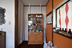 食器棚の様子。(2016-10-04,共用部,KITCHEN,2F)