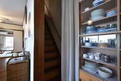 階段の様子。(2016-10-04,共用部,OTHER,2F)