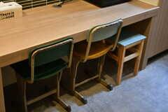 学校で使われていたようなチェアです。(2020-03-24,共用部,OTHER,1F)
