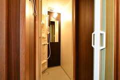 女性専用シャワールームの様子2。(2020-03-24,共用部,BATH,2F)
