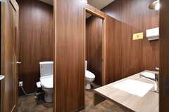 女性専用トイレの様子。(2020-03-24,共用部,TOILET,2F)