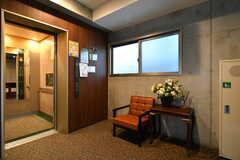 エレベーターホールの様子。(2020-03-24,共用部,OTHER,3F)