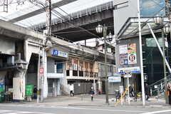 各線・西九条駅の様子。(2020-03-24,共用部,ENVIRONMENT,1F)