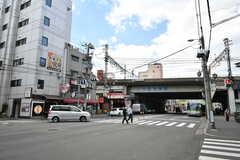 各線・西九条駅前の様子2。(2020-03-24,共用部,ENVIRONMENT,1F)
