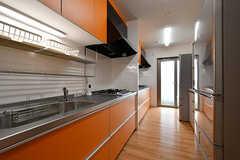 キッチンの様子。(2017-06-07,共用部,KITCHEN,1F)