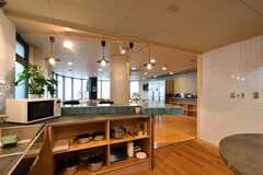 シェアハウスのキッチンの様子3。(2015-05-18,共用部,KITCHEN,1F)