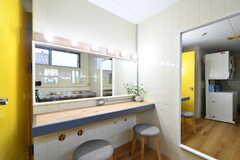 洗面台の様子。(2011-05-28,共用部,OTHER,1F)