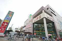 大阪市営地下鉄谷町線・喜連瓜破駅からシェアハウスへ向かう道の様子2。(2011-05-28,共用部,ENVIRONMENT,1F)