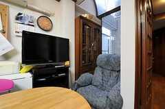 シェアハウスのリビングの様子2。(2010-11-26,共用部,LIVINGROOM,1F)