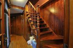 階段の様子。(2010-11-26,共用部,OTHER,1F)