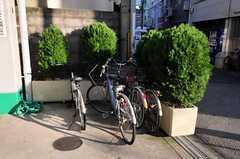 自転車は近くのマンションに駐輪できます。(2010-11-26,共用部,GARAGE,1F)