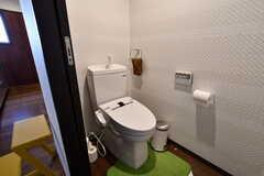 ウォシュレット付きトイレの様子。(2017-06-06,共用部,TOILET,1F)